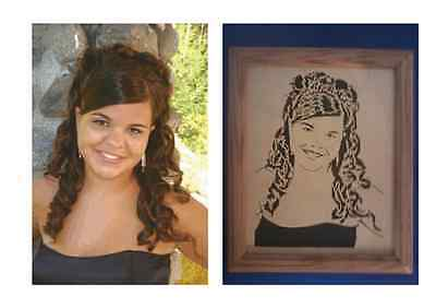 8x10 Personalized Scrolled Portraits