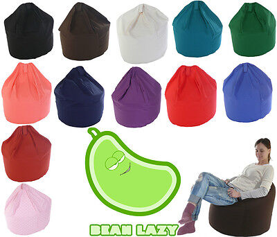 BeanLazy Extra Large Adult/Teens Size Bean Bag With Beans 100% Cotton!