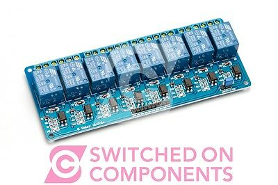 5V DC Eight 8 Channel Relay Module for Arduino Raspberry Pi Pic AVR