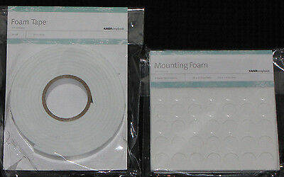 Kaisercraft 'MOUNTING FOAM TAPE or FOAM  DOTS' (You choose) Card Making KAISER