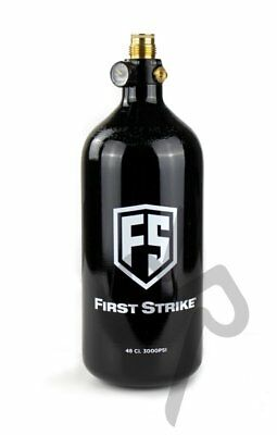 First Strike Guerrilla Paintball Airsoft HPA Air Tank - 48ci 48/3000psi Bottle