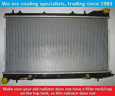 Brand New Radiator Subaru Forester 2002 To 2008 For Manual & Automatic Vehicles
