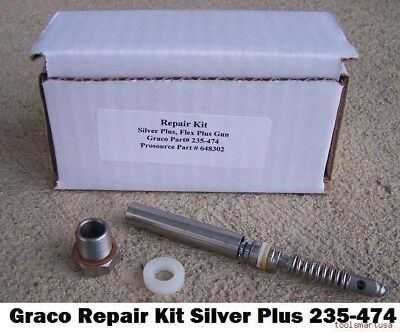 Aftermarket Gun Repair Kit For Graco®* Airless Paint Sprayer 235-474 235474