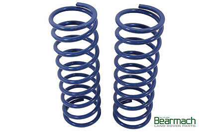 "Range Rover Classic +2"" / 50mm Lift Bearmach Blue Front Coil Springs"