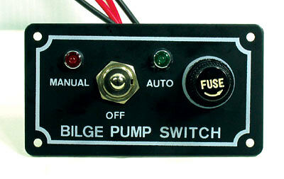Bilge Pump Marine Led Switch Panel With Fuse New Switch Panel Boat