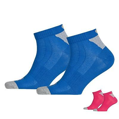 PUMA Sports Socks UK 2.5-5 Cell Light Quarter Performance Running (2 Pair Pack)