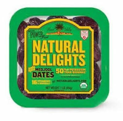 MEDJOOL DATES 907 GRAM TUB - PRODUCT OF USA - NEW STOCK best before MAR 2017