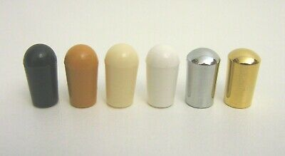 Gibson Switch Tip for USA Selector Switch - Black Amber Cream White Chrome Gold
