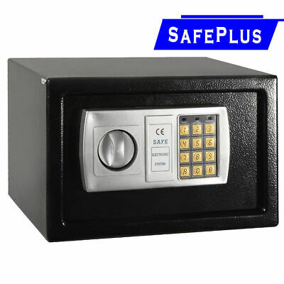 "12.5"" Electronic Digital Lock Keypad Safe Box Cash Jewelry Gun Safe Black New"