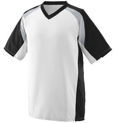 Augusta Sportswear Men's Moisture Wicking V-Neck Nitro Jersey T-Shirt. 1535