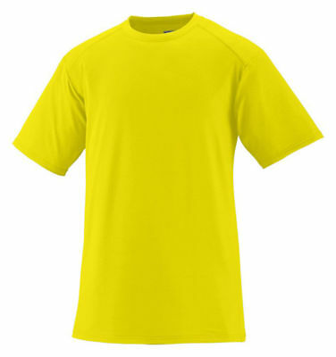 Augusta Sportswear Men's Moisture Wikcing Short Sleeve Sports Exa T-Shirt. 1070