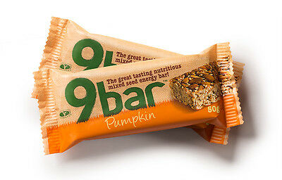 9Bar Pumpkin Energy Bar 50g (Pack of 16)