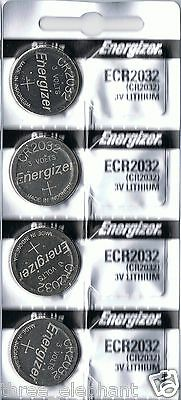 4 New ENERGIZER CR2032 Lithium 3v Coin Battery Australia Stock  FAST SHIPPING