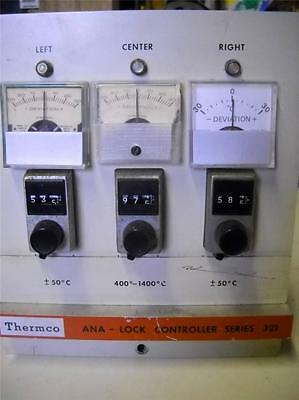 Thermco ANA Lock Controller Series 321 Temperature Controller 400-1400 C Type S