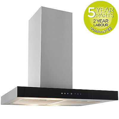 MyAppliances REF10302 60cm Box Chimney Cooker Hood Extractor Touch Control
