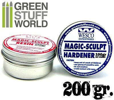 Magic Sculpt  200gr - Masilla Epoxy Bicomponente - Pasta Moldeable Profesional
