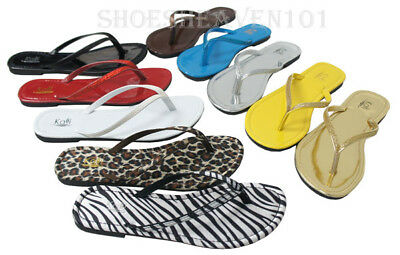 Women Glitter Thong Flip Flop Sparkle T-Strap Flat Sandal Fashion Shoes