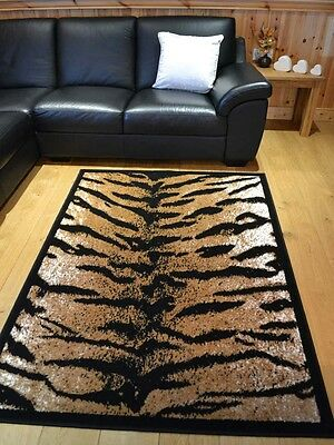 New Tiger Design African Animal Print Small Extra Large Size Floor Rugs Rug Mat