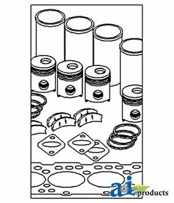 John Deere Parts In Frame Overhaul Kit Ik3694 755750 672a 670a