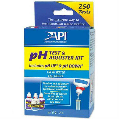 Api Fresh Water  Tank Ph Test Adjuster Kit 250 Tests