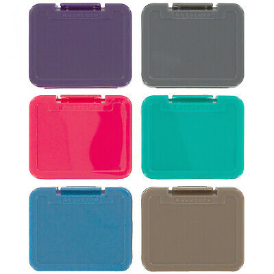 Storage case for SD card holder box 6 pack micro SDHC tough ZedLabz solid colour