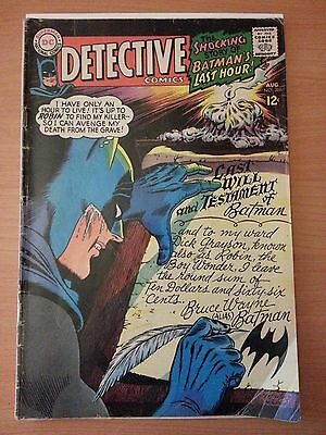 Detective Comics #366 Starring Batman ~ VERY GOOD VG ~ 1967 DC COMICS