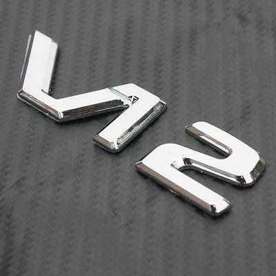 3D Badge V12 CL600 W140 C140 S600 600SE Silver Chrome Decal Emblem Decor Sticker