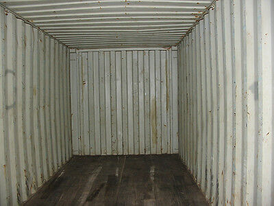 40' Shipping Container - Storage Container - AS IS - Savannah GA