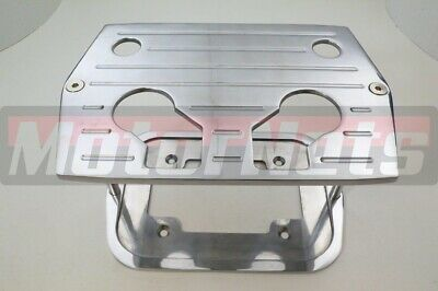 CNC Chrome Aluminum Smooth Top Optima Group 35//75 Battery Tray Hot Rod