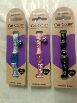 Reflective Cat Collar With Safety Buckle-By Rosewood Pet Products-Saftey Buckle