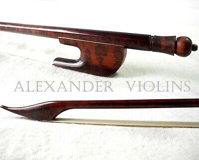 Violin Bow 4/4/ Italian Snakewood Baroque Style/ Well Balanced/ Us Seller