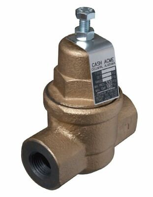 "Cash Acme 23000-0045 EB75 3/4"" Water Pressure Reducing Regulator Valve"