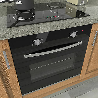 MyAppliances REF50405 60cm Electric Static Oven & 60cm Touch Control Ceramic Hob