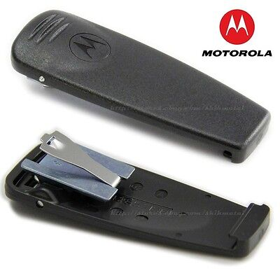 "Motorola 2"" spring heavy duty belt clip HLN9844 A for handheld radio"