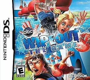 NINTENDO DS NDS GAME WIPEOUT THE GAME WIPE OUT *BRAND NEW & SEALED*