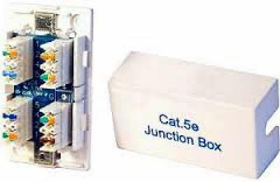 Network Cable Connector Box Cat5e IDC Punchdown Junction Box
