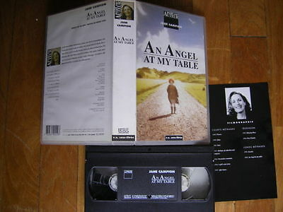 An Angel At My Table (V.O.S.T) de Jane Campion, VHS UGC, Drame, RARE!!!!