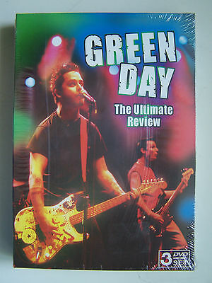 Green Day - The Ultimate Review - Triple Dvd Neuf Et Emballe -