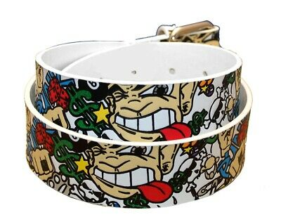 Punk Graffiti Belt