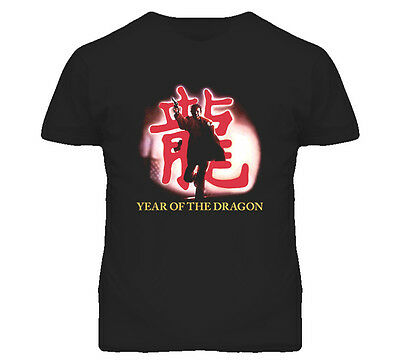 Year Of The Dragon Movie Poster T Shirt