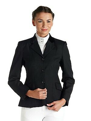 Caldene Waterton Ladies Competition Show Riding Jacket Navy or Black