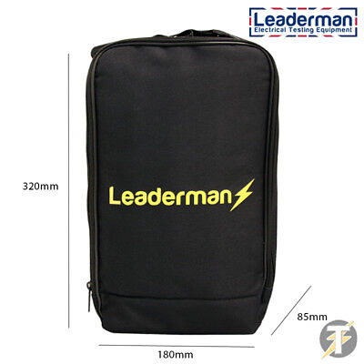 LDMC115 Leaderman Carry Case for Loop, RCD, Continuity, most PAT Testers & more