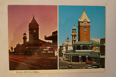Broken Hill - Post Office - Collectable - Postcard.