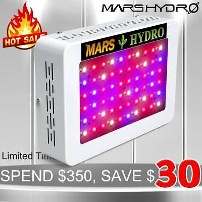 Mars 300W LED Grow Light Bulb Full Spectrum Hydro Veg Flower Medical Plant Panel