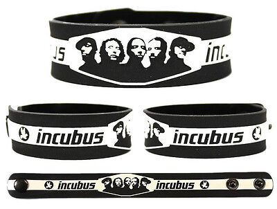 INCUBUS Rubber Bracelet Wristband Make Yourself Morning View If Not Now When
