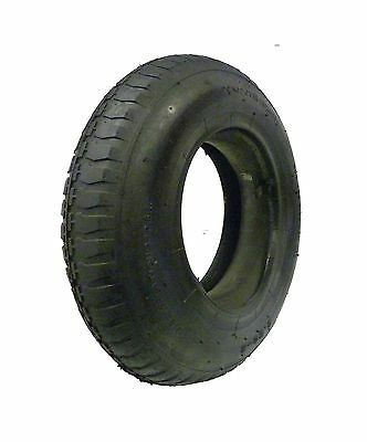 TYRE & INNER TUBE 4.10 / 3.50 - 4 Innertube STRAIGHT VALVE WheelBarrow Wheels