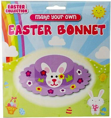 Make Your Own Easter Bonnet Craft Kit Easter Hat - Suitable For 3 Years +