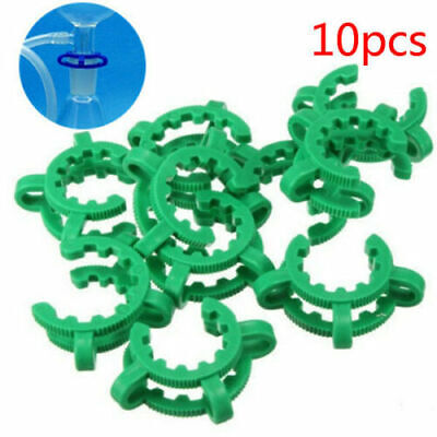 10pcs 19# Laboratory Plastic Keck Clamp Clip for 19/26(19/38) Glass Joints 45#