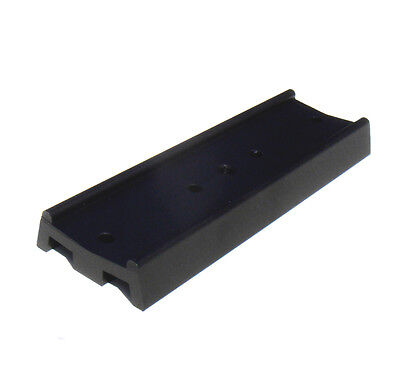 Telescope dovetail mounting plate for equatorial tripod. 130mm long