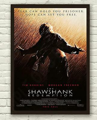 Modern Classic The Shawshank Redemption Movie Film Poster Print Picture A3 A4